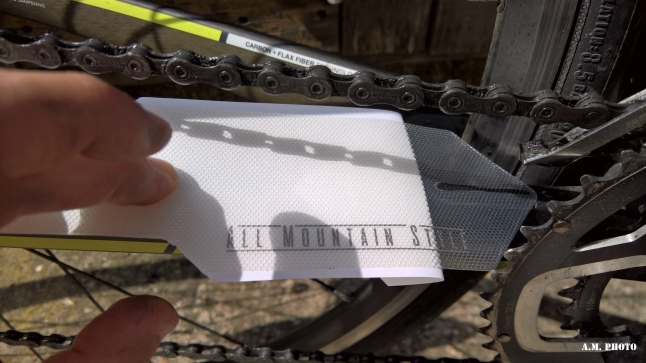 All Mountain Style Chain Guard application
